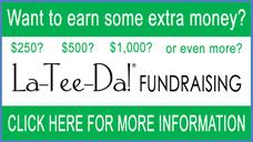 La-Tee-Da! Fundraising Information Flyer