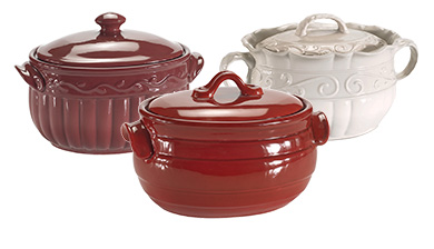 baking serving stoneware bean pot covered casserole recipe book casserole stand bowl dip entertain veranda milano sonoma prestige