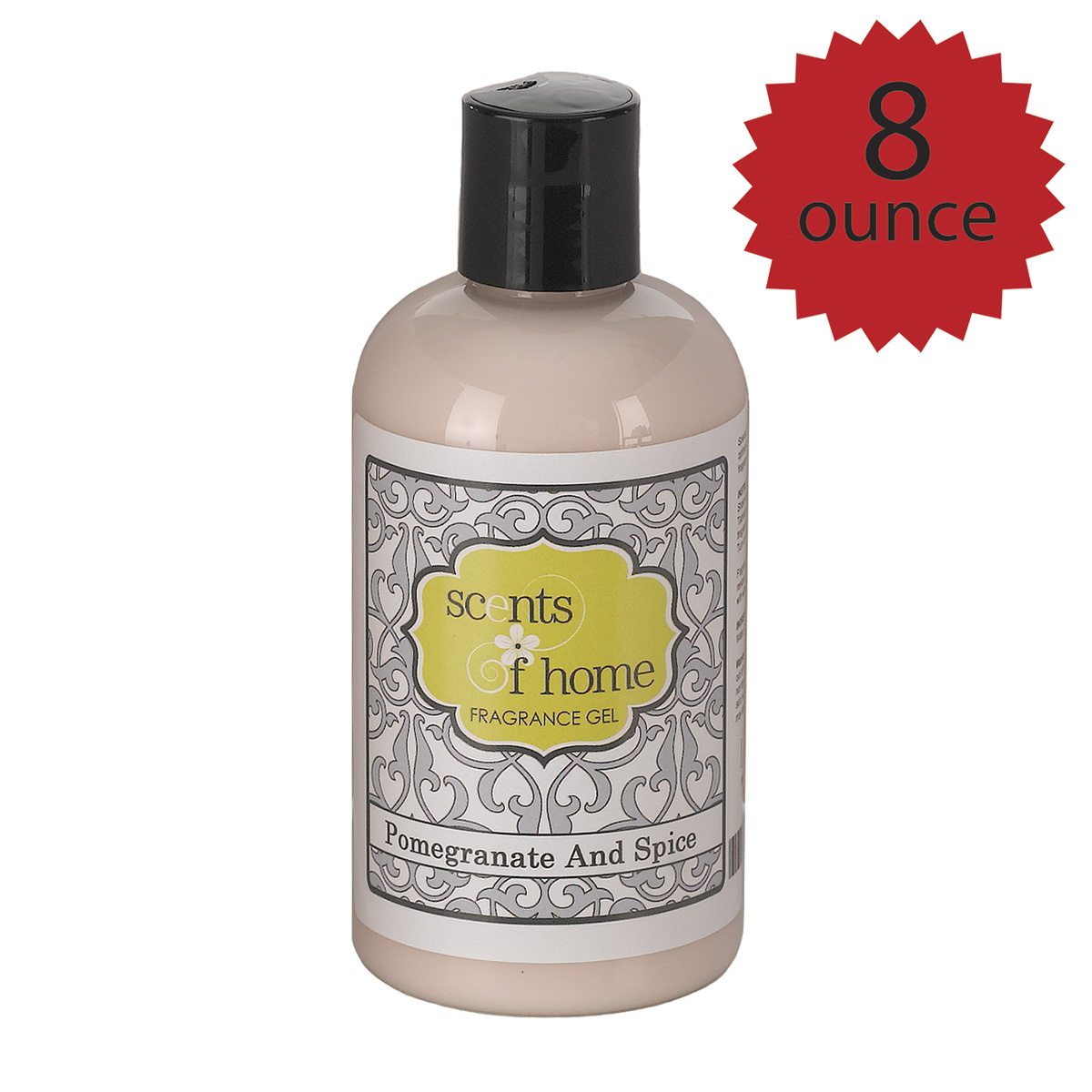 8 oz. Fragrance Gel - Pomegranate and Spice