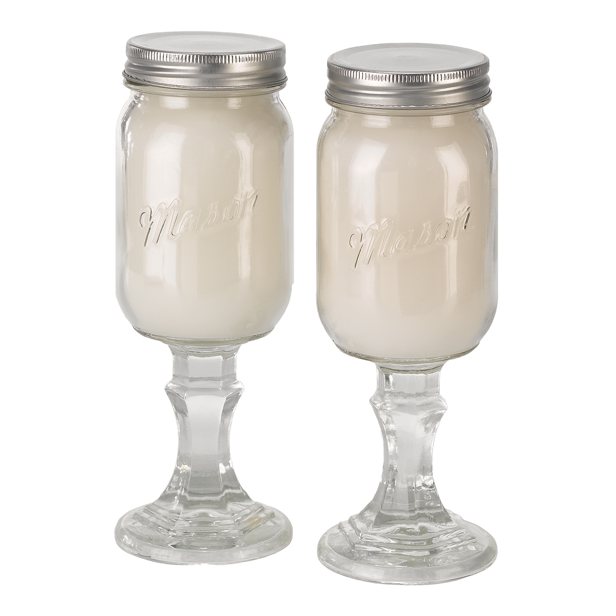 Country Candles - Set of 2 - Gardenia