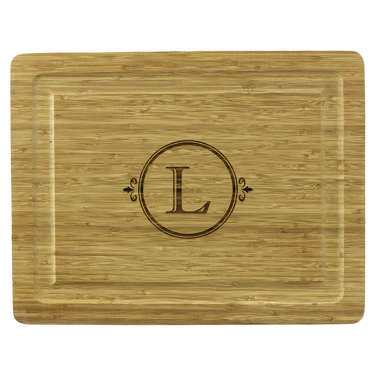Bamboo Cutting Board (A-Z)