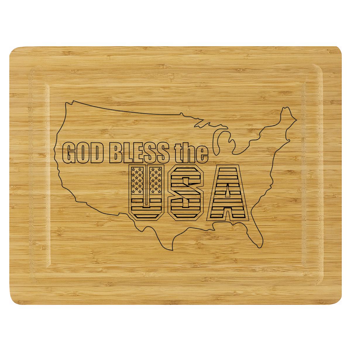 Cutting Board - God Bless the USA