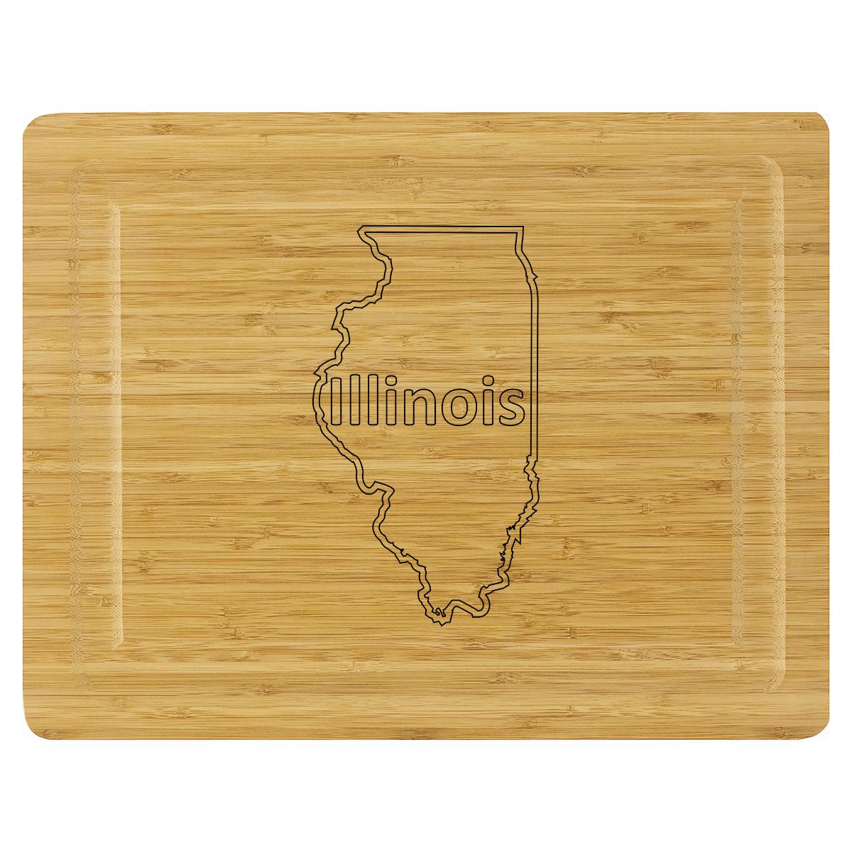 Cutting Board - Illinois