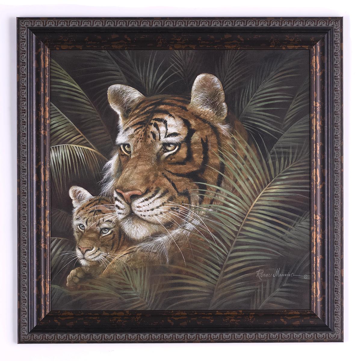 Tiger Mom & Cub