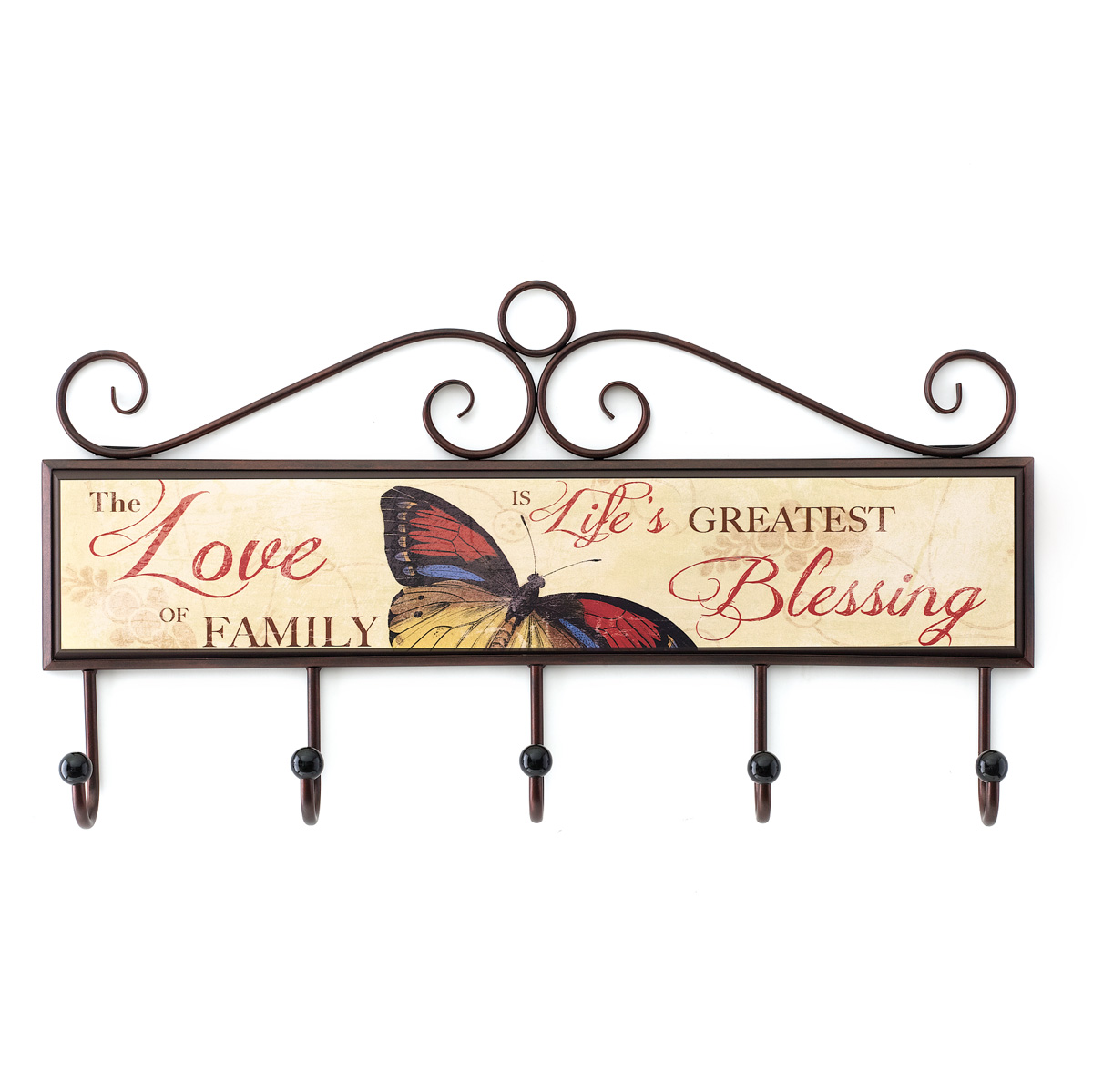 Greatest Blessing Plaque With Hooks