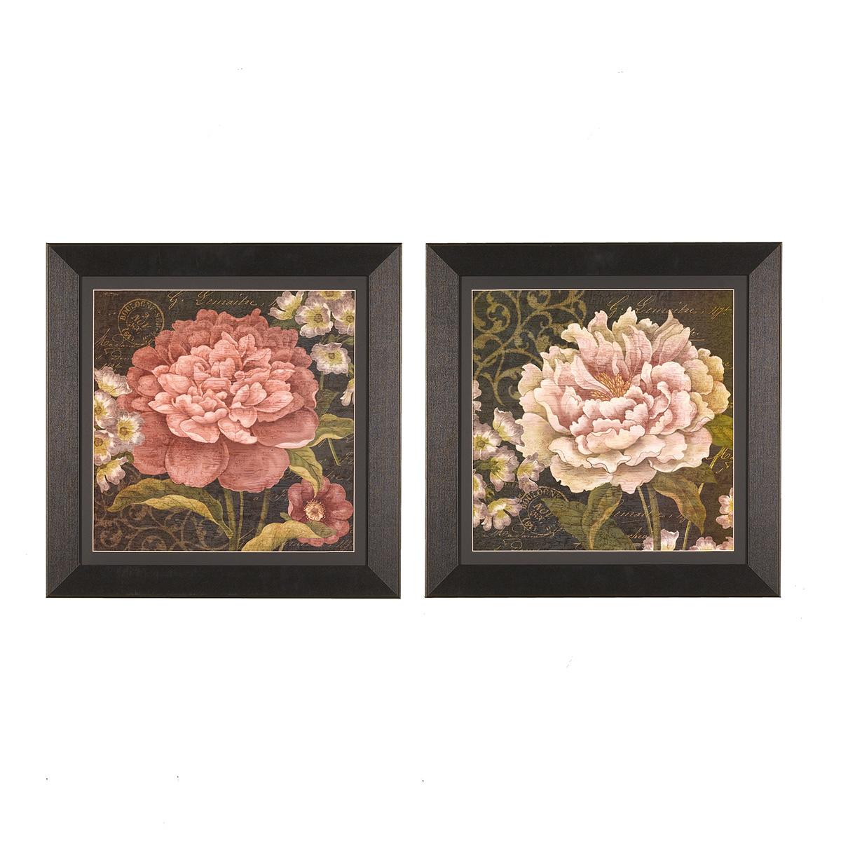 Still Life Camellias - Set of 2