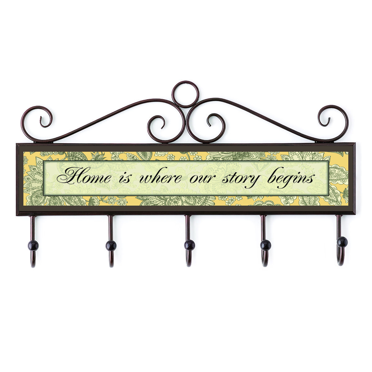 Home is Where Our Story Begins Plaque