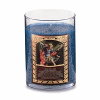Saint Candle - San Miguel Arcangel - Angel Wings (Blue)