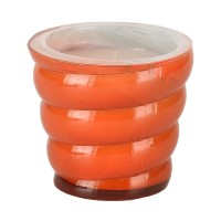 Vidrio Bello Candle - Spiral - Mango Cooler
