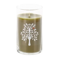 Straight Side Jar Candle - Mahogany Teakwood