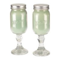 Country Candles - Set of 2 - Cucumber Melon