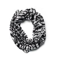 Zebra & Houndstooth Infinity Scarf