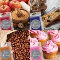Melts - 4 Packs of  Food Fragrances (Variety Pack)