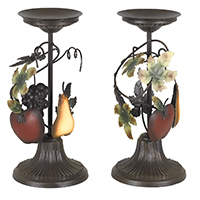 Sonoma Villa Candle Holders - Set of 2