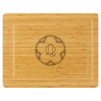 Cutting Board - Arch Circle Initial - LIMITED LETTERS AVAILABLE