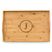 Bamboo Tray (LIMITED LETTERS AVAILABLE)