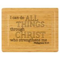 Cutting Board - Philippians 4:13