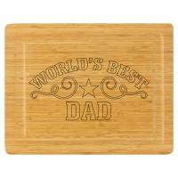 Cutting Board - World's Best Dad