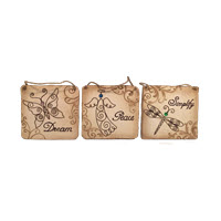 Nature Garden Wall Tiles - Set of 3