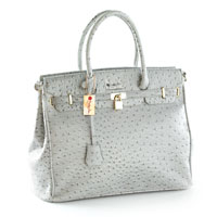 Ladies Who Lunch Handbag- Gray
