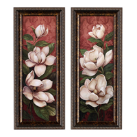Magnolia Branch Panels - Set of 2